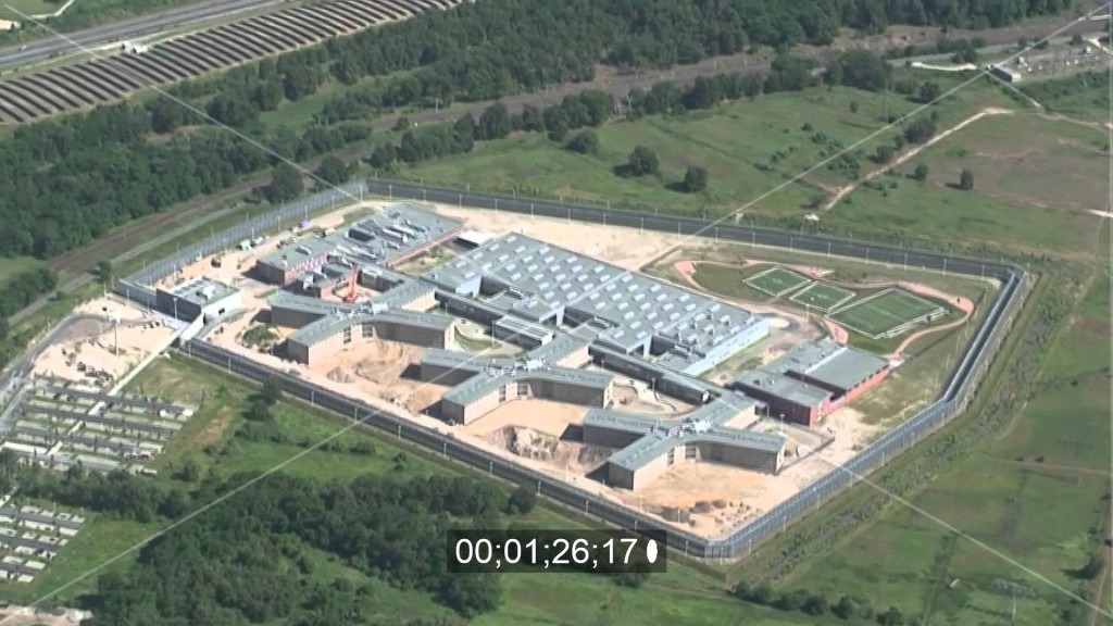 JVA Heidering (410 Haftplätze) Videolink zu Euroluftbild auf Youtube
